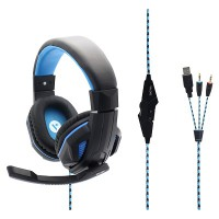 Valore Gaming Headset (HS0010) Black/Blue