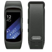 Samsung Gear Fit 2 Sports Band (HR + GPS) (Size S) (Black)