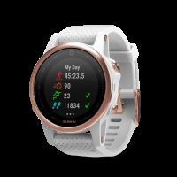 Garmin Fenix 5S Sapphire [42mm] Sport Watch (Rose Gold)