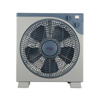 Morries MS-712BFT Box Fan with Timer