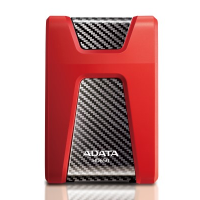 ADATA HD650 2TB Silicon HDD (Red)