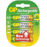 GP Rechargeable 3+1 AA 2700mAh