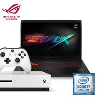 [Xbox Bundle] Asus GL702VM-GC250T Gaming Notebook (Intel i7, 24GB RAM, 1TB HDD + 256 SSD, GTX1060(6G) + Xbox One S (Ultimate Pack)