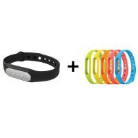 XiaoMi Mi Fitness Pulse Band + 5 Colours Strap Bundle