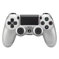 PS4 New Dualshock 4 Wireless Controller  [CUH-ZCT2G 15] (Silver)