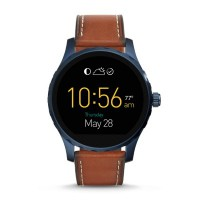 Fossil Q Marshal Smart Watch (Brown Leather)