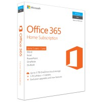 Microsoft Office 365 Home for Mac & Windows (1-year subscription)