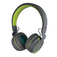 SonicGear AirPhone V Bluetooth Headphones (Grey/Light Green)