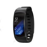 Samsung Gear Fit2 Sports Band (HR + GPS) (Size L) (Black)