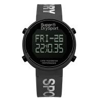 Superdry SYG203E Digi Pedometer Watch (Grey/Silver)