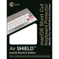 Mazer Shortcut Keyboard Protector for MacBook (12-inch) / MacBook Pro (13-inch) Non-Touch Bar