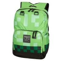 Minecraft Creeper Backpack (Green)