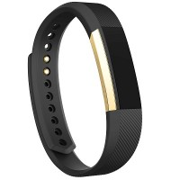 [Special Edition] Fitbit Alta Fitness Wristband [Black/Gold] [Large: 17.0 cm–20.6 cm]