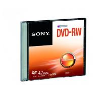 Sony DVD-RW (ReWritable) Single Slim Case