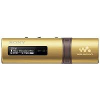 Sony Walkman with Built-in USB (NWZ-B183F) Gold