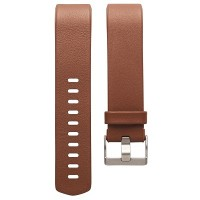 Fitbit Charge 2 Leather Accessory Band (Brown - Size S)