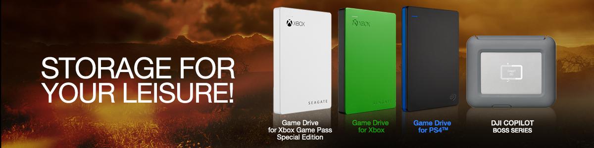 SEAGATE Xbox Game Drive banner ile ilgili görsel sonucu