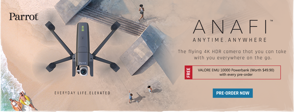 ANAFI: Anytime  Anywhere  Pre-order now! - Hachi tech