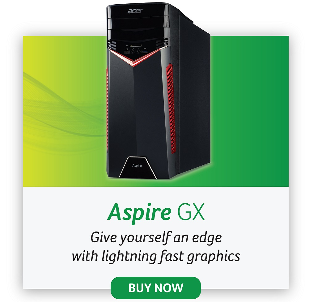 acer aspire GX desktop