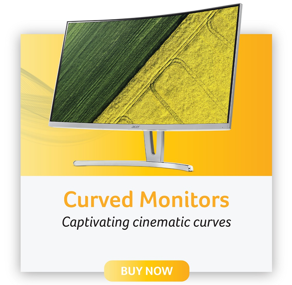 acer curved monitors