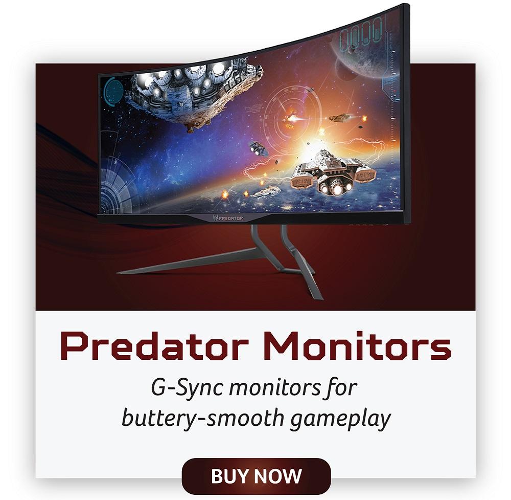 acer predator monitors