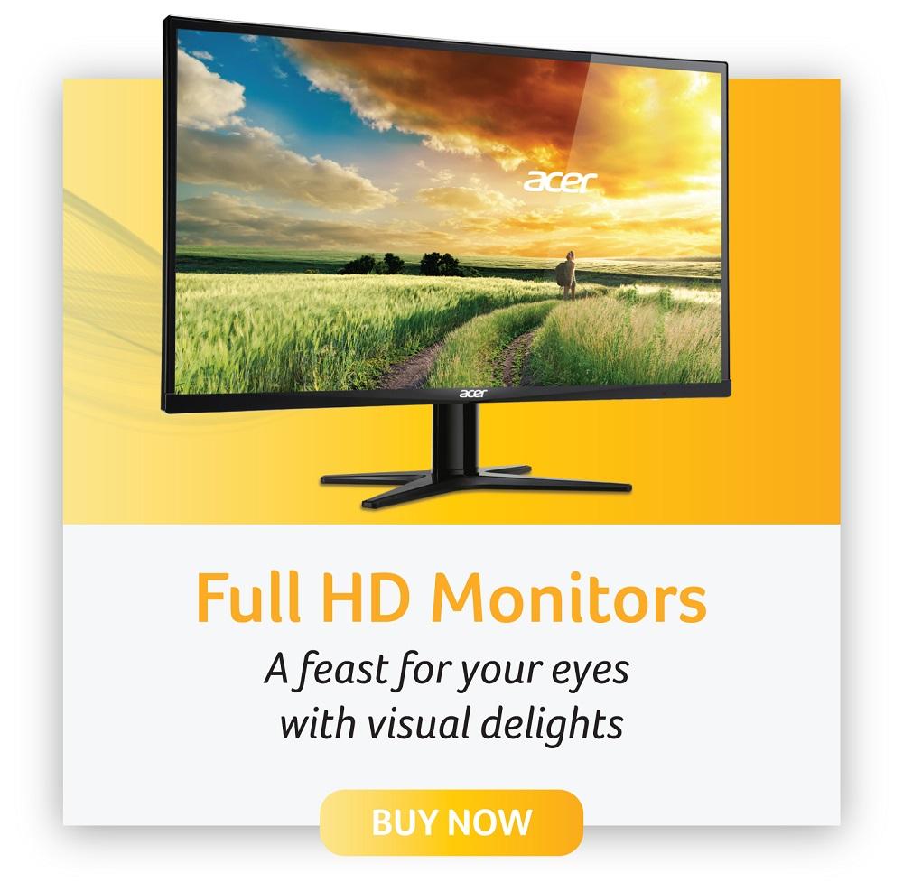 acer full HD monitors