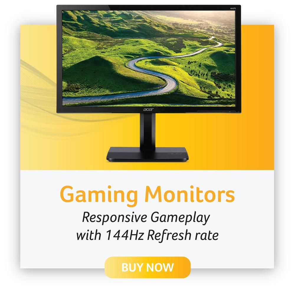 acer gaming monitors
