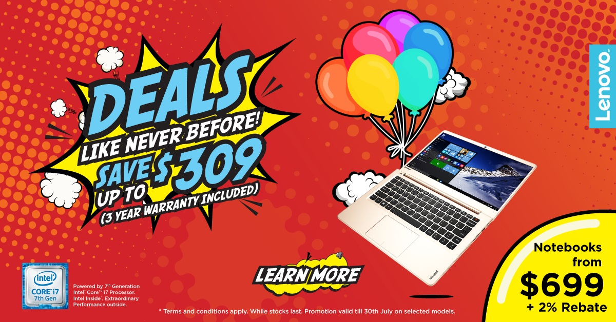 lenovo notebooks and desktops back to school products