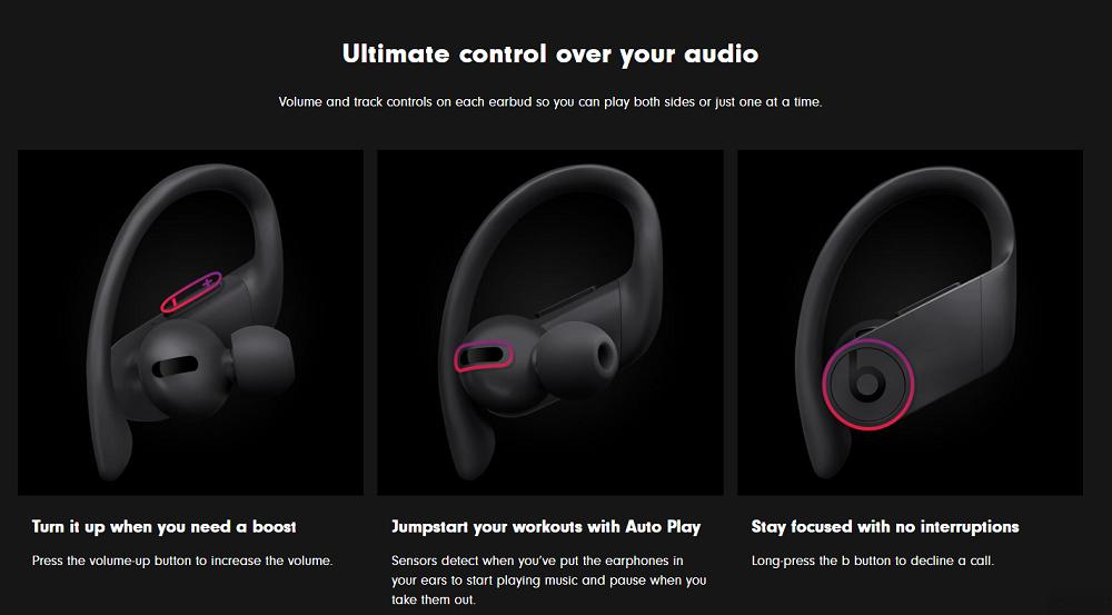 Beats Powerbeats Pro True Wireless Earphones (Black)